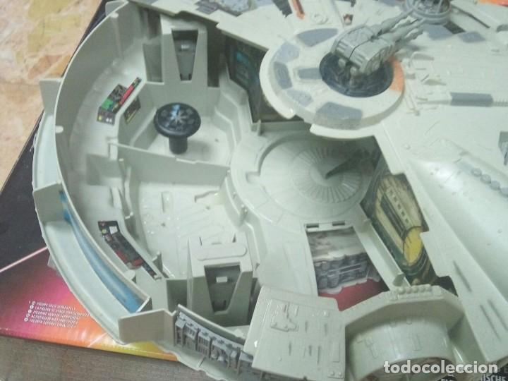 Figuras y Muñecos Star Wars: NAVE HALCÓN MILENARIO. MILLENNIUM FALCON. DE KENNER. AÑO 1995. ELECTRÓNICO. LUCAS FILM. STAR WARS. - Foto 4 - 96567947