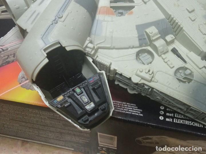 Figuras y Muñecos Star Wars: NAVE HALCÓN MILENARIO. MILLENNIUM FALCON. DE KENNER. AÑO 1995. ELECTRÓNICO. LUCAS FILM. STAR WARS. - Foto 5 - 96567947