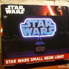 Figuras y Muñecos Star Wars: STAR WARS - LAMPARA - NEON - LOGO - LICENCIA OFICIAL - LUCASFILM - PRECINTADO - NUEVO. Lote 96946027