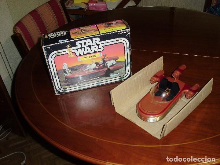 LANDSPEEDER STAR WARS CAJA STARWARS VINTAGE 1977 (Juguetes - Figuras de Acción - Star Wars)