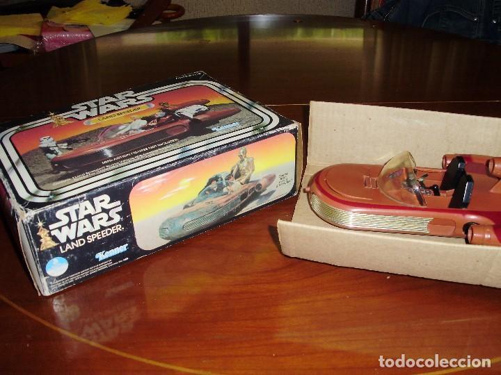 Figuras y Muñecos Star Wars: LANDSPEEDER STAR WARS CAJA STARWARS VINTAGE 1977 - Foto 2 - 97067227