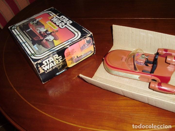 Figuras y Muñecos Star Wars: LANDSPEEDER STAR WARS CAJA STARWARS VINTAGE 1977 - Foto 3 - 97067227
