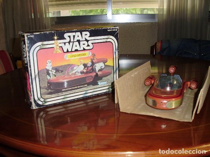 Figuras y Muñecos Star Wars: LANDSPEEDER STAR WARS CAJA STARWARS VINTAGE 1977 - Foto 4 - 97067227
