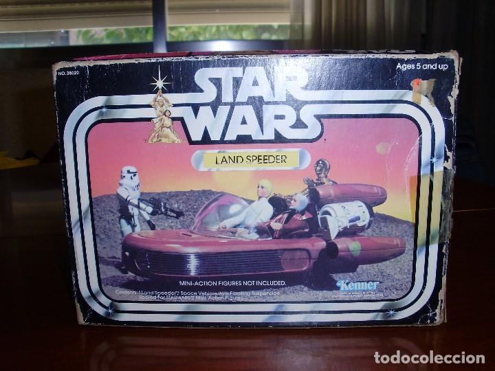 Figuras y Muñecos Star Wars: LANDSPEEDER STAR WARS CAJA STARWARS VINTAGE 1977 - Foto 5 - 97067227