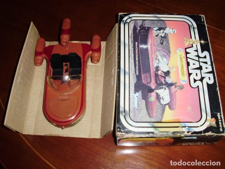 Figuras y Muñecos Star Wars: LANDSPEEDER STAR WARS CAJA STARWARS VINTAGE 1977 - Foto 6 - 97067227