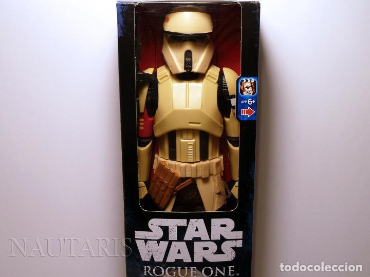 STAR WARS ROGUE ONE - SCARIF SHORETROOPER - FIGURA DE 30 CM (Juguetes - Figuras de Acción - Star Wars)