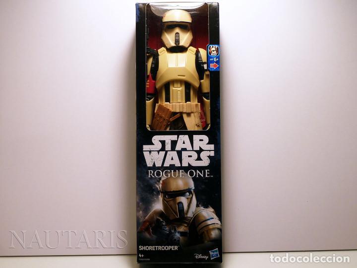 Figuras y Muñecos Star Wars: Star Wars Rogue One - Scarif Shoretrooper - Figura de 30 cm - Foto 3 - 97487155