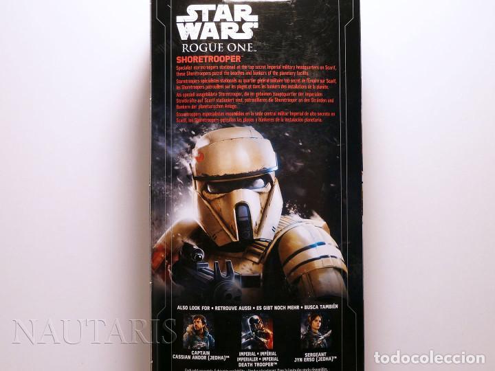 Figuras y Muñecos Star Wars: Star Wars Rogue One - Scarif Shoretrooper - Figura de 30 cm - Foto 4 - 97487155