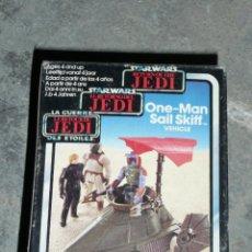 Figuras y Muñecos Star Wars: STAR WARS RETURN OF THE JEDI ONE MAN SAIL SKIFF VEHICLE. Lote 49843141