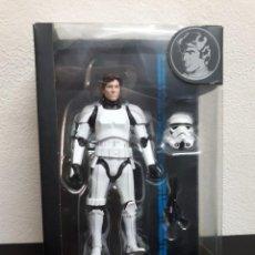 Figuras y Muñecos Star Wars: FIGURA STAR WARS BLACK SERIES 6 PULGADAS - SERIE AZUL - HAN SOLO STORMTROOPER - EN CAJA NUEVA. Lote 97766559