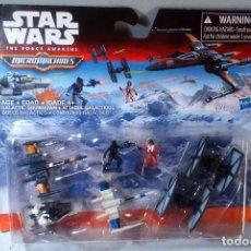 Figuras y Muñecos Star Wars: MCRO MACHINES. STAR WARS. GALACTIC SHOWDOWN. DUELO GALÁCTICO. EN BLISTER.. Lote 175561922