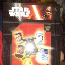 Figuras y Muñecos Star Wars: ABATONS STAR WARS.COLLECTOR BOX CON 22 PIEZAS.PANINI 2015.. Lote 98013575