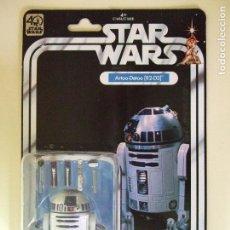 Figuras y Muñecos Star Wars: FIGURA ROBOT R2 D2 8 CMS. - STAR WARS 40 ANIVERSARIO - 40TH ANNIVERSARY - HASBRO BLÍSTER TIPO KENNER. Lote 126042464