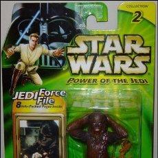 Figuras y Muñecos Star Wars: STAR WARS - CHEWBACCA - DEJARIK CHAMPION - POWER OF THE JEDI- . Lote 98800103