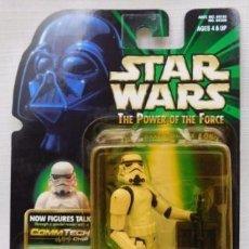 Figuras y Muñecos Star Wars: STAR WARS - STORMTROOPER - WITH BATTLE DAMAGE AND BLASTER RUFLE RACK. Lote 98800691