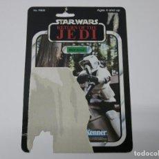 Figuras y Muñecos Star Wars - STAR WARS VINTAGE CARDBACK CARTON ORIGINAL ROTJ BIKER SCOUT. - 100375391