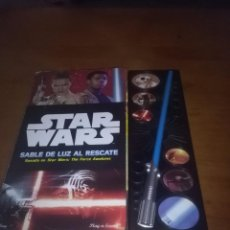 Figuras y Muñecos Star Wars: STAR WARS. SABLE DE LUZ AL RESCATE. BASADO EN STAR WARS. THE FORCE AWAKENS. . Lote 100391951