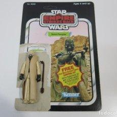 Figuras y Muñecos Star Wars: STAR WARS VINTAGE FIGURA Y CARDBACK CARTON ORIGINALES TESB TUSKEN RIDER.. Lote 100532719