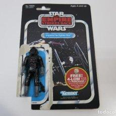 Figuras y Muñecos Star Wars: STAR WARS VINTAGE FIGURA Y CARDBACK CARTON ORIGINALES TESB TIE FIGHTER PILOT.. Lote 100532851