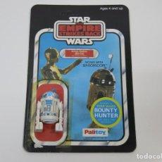 Figuras y Muñecos Star Wars: STAR WARS VINTAGE FIGURA Y CARDBACK CARTON ORIGINALES TESB R2-D2 SENSORSCOPE PALITOY.. Lote 100533559