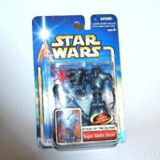 Figuras y Muñecos Star Wars: STAR WARS SUPER BATTLE DROID ATAQUE DE LOS CLONES ATTACK OF THE CLONES 2002 SAGA. Lote 100692695