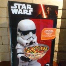 Figuras y Muñecos Star Wars: STAR WARS - STORMTROOPER - 50 CM - CARAMELOS - HALLOWEEN - CANDY BOWL HOLDER - NUEVO - PRECINTADO. Lote 100956723