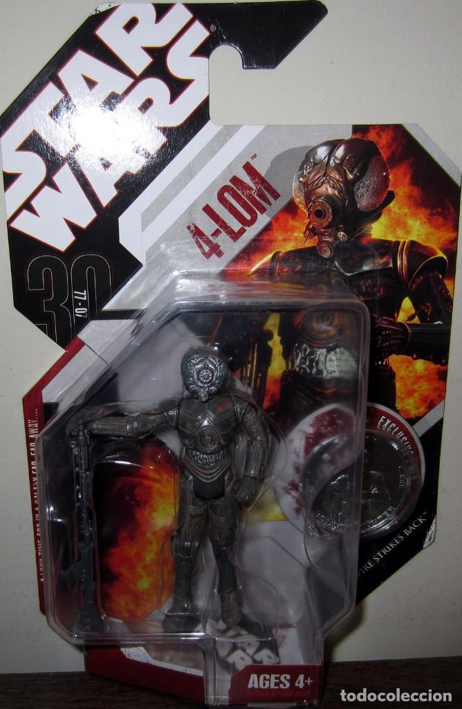 STAR WARS - 4-LOM THE EMPIRE STRIKES BACK (Juguetes - Figuras de Acción - Star Wars)