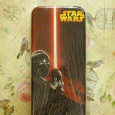 Figuras y Muñecos Star Wars: PLUMIER METÁLICO - ESTUCHE - CAJA - STAR WARS - GUERRA DE LAS GALAXIAS - NUEVO - CON PRECINTO. Lote 102748079