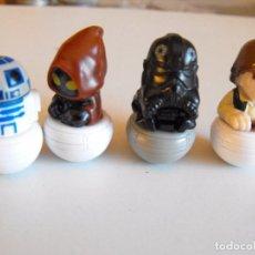 Figuras y Muñecos Star Wars: LOTE DE 4 FIGURAS DE STAR WARS. TENTETIESO. LUCASFILM LTD. 3 CM. ALRTURA.. Lote 103469739