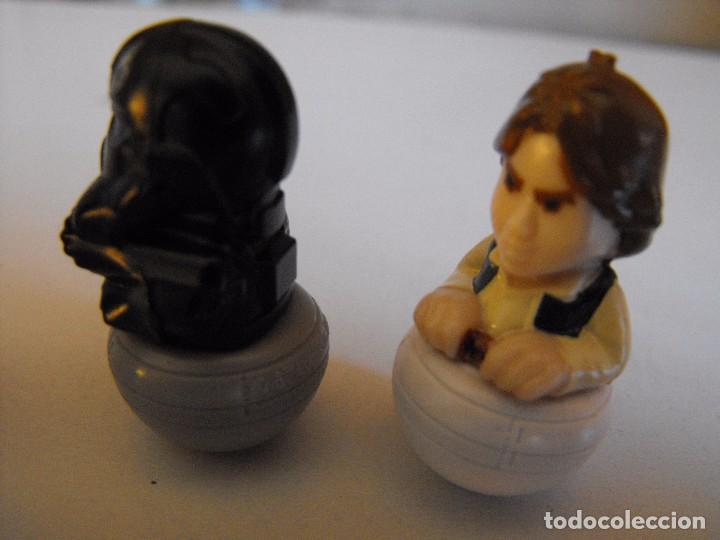 Figuras y Muñecos Star Wars: Lote de 4 figuras de star wars. Tentetieso. LUCASFILM LTD. 3 cm. alrtura. - Foto 2 - 103469739