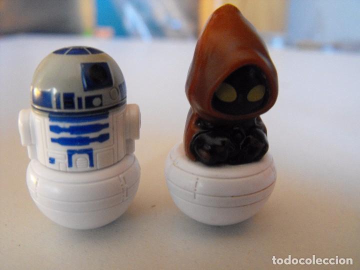 Figuras y Muñecos Star Wars: Lote de 4 figuras de star wars. Tentetieso. LUCASFILM LTD. 3 cm. alrtura. - Foto 3 - 103469739