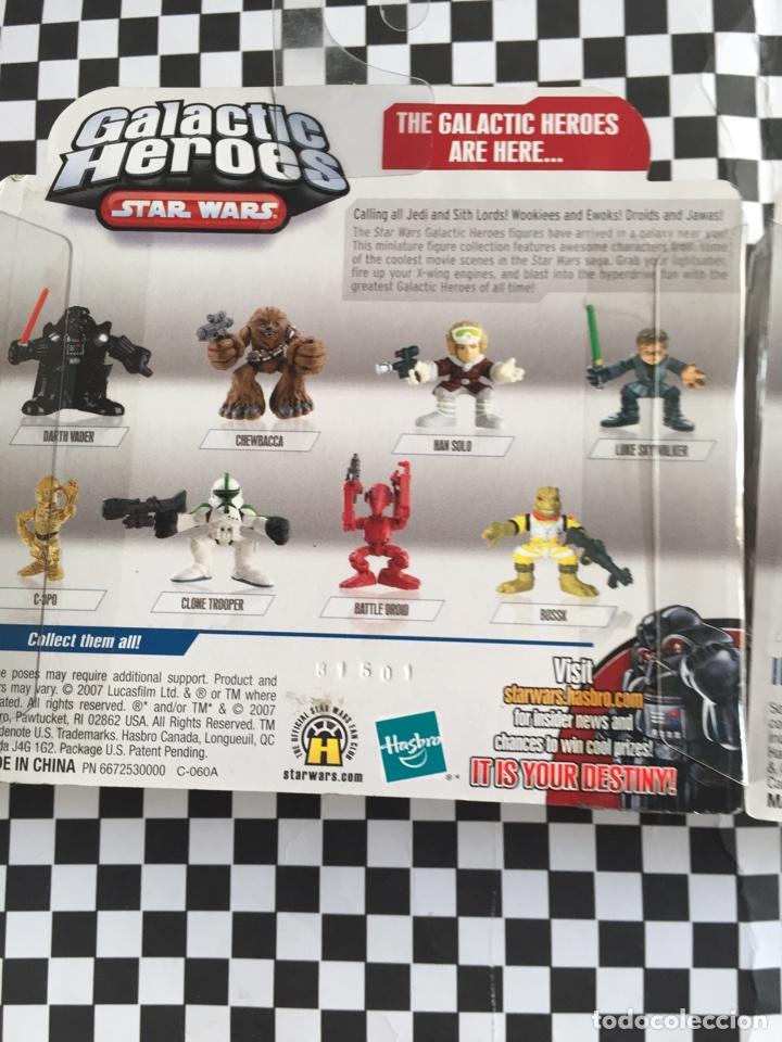 Figuras y Muñecos Star Wars: Galactic Héroes Chewbacca &Han Solo Star Wars nuevos - Foto 5 - 103489799