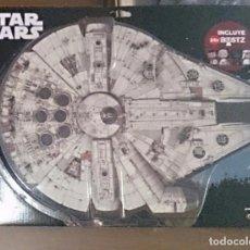 Figuras y Muñecos Star Wars: CAJA DEL HALCÓN MILENARIO CON 24 BUSTZ DE STAR WARS/DISNEY. NUEVA, SIN ABRIR. Lote 142884968