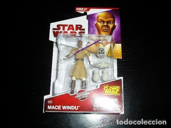 STAR WARS - MACE WINDU (Juguetes - Figuras de Acción - Star Wars)
