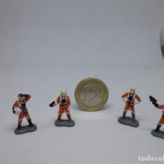Figuras y Muñecos Star Wars: MICRO MACHINES - MICROMACHINES - ACTION FLEET - STAR WARS - X-WING PILOTS- A. Lote 104299847