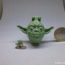 Figuras y Muñecos Star Wars: MICROMACHINES - MICRO MACHINES - STAR WARS - YODA - MINI CABEZA. Lote 104389939