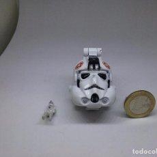 Figuras y Muñecos Star Wars: MICROMACHINES - MICRO MACHINES - STAR WARS - AT-AT DRIVER - MINI CABEZA. Lote 104390499