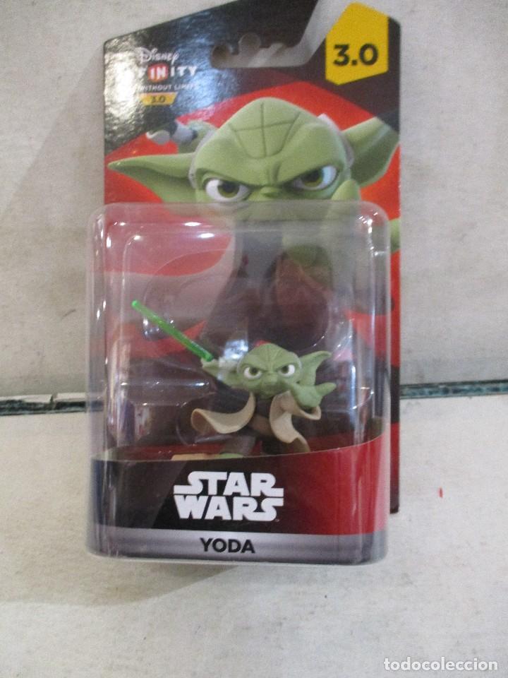 STAR WARS FIGURA YODA 3.0 INFINITY NUEVA SIN ABRIR (Juguetes - Figuras de Acción - Star Wars)