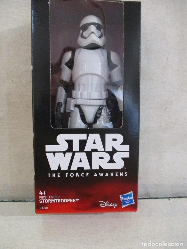 STAR WARS FIGURA STORMTROOPER FIRST ORDER HASBRO NUEVA SIN ABRIR DISNEY (Juguetes - Figuras de Acción - Star Wars)
