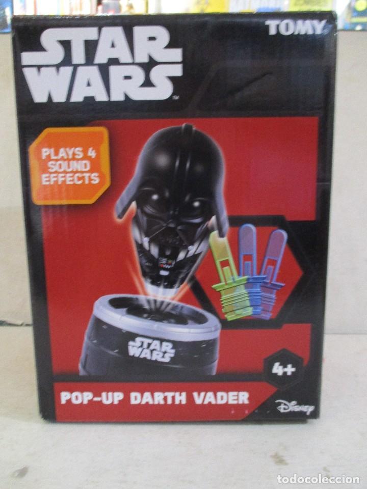 STAR WARS POP UP DARTH VADER JUEGO DE MESA CON SONIDOS NUEVO SIN ESTRENAR DISNEY (Juguetes - Figuras de Acción - Star Wars)