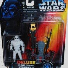 Figuras y Muñecos Star Wars: STAR WARS - DELUXE CROWD CONTROL STORMTROOPER -. Lote 104647115