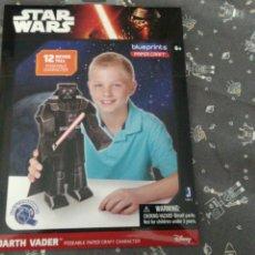 Figuras y Muñecos Star Wars: MAQUETA PARA MONTAR PAPEL CRAFT PERSONAJE DARTH VADER STAR WARS. Lote 104828090