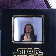Figuras y Muñecos Star Wars: STAR WARS BUSTO DE QUI-GON JINN DE GENTLE GIANT. Lote 105013727