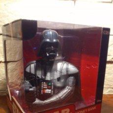 Figuras y Muñecos Star Wars: STAR WARS - HUCHA - MONEY BANK - DARTH VADER - BUSTO - LICENCIA OFICIAL - PRECINTADO - NUEVO. Lote 105025083
