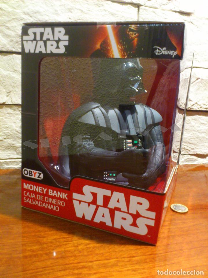Figuras y Muñecos Star Wars: STAR WARS - HUCHA - MONEY BANK - DARTH VADER - BUSTO - LICENCIA OFICIAL - PRECINTADO - NUEVO - Foto 2 - 105025083