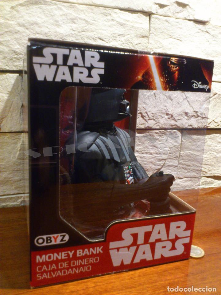 Figuras y Muñecos Star Wars: STAR WARS - HUCHA - MONEY BANK - DARTH VADER - BUSTO - LICENCIA OFICIAL - PRECINTADO - NUEVO - Foto 3 - 105025083