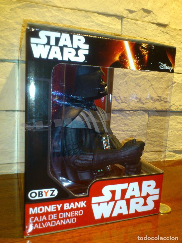 Figuras y Muñecos Star Wars: STAR WARS - HUCHA - MONEY BANK - DARTH VADER - BUSTO - LICENCIA OFICIAL - PRECINTADO - NUEVO - Foto 4 - 105025083