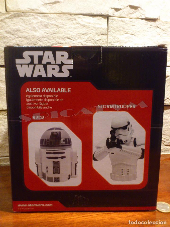Figuras y Muñecos Star Wars: STAR WARS - HUCHA - MONEY BANK - DARTH VADER - BUSTO - LICENCIA OFICIAL - PRECINTADO - NUEVO - Foto 5 - 105025083