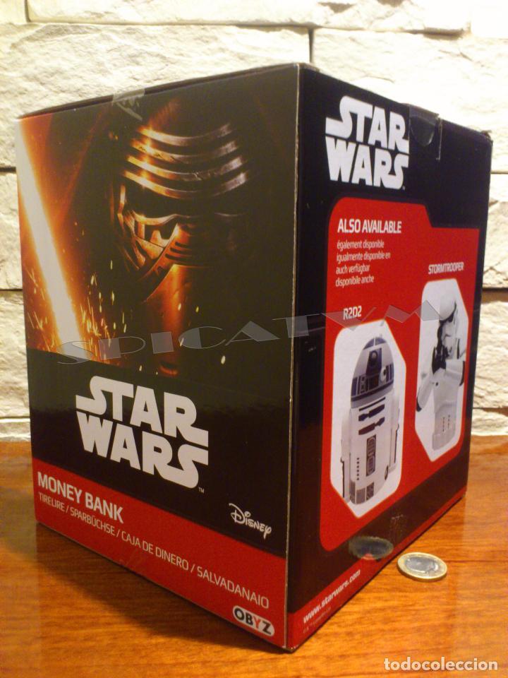 Figuras y Muñecos Star Wars: STAR WARS - HUCHA - MONEY BANK - DARTH VADER - BUSTO - LICENCIA OFICIAL - PRECINTADO - NUEVO - Foto 6 - 105025083