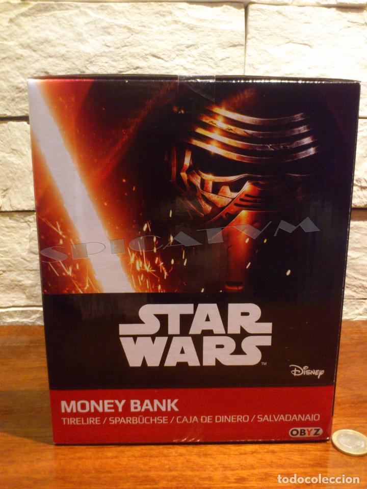 Figuras y Muñecos Star Wars: STAR WARS - HUCHA - MONEY BANK - DARTH VADER - BUSTO - LICENCIA OFICIAL - PRECINTADO - NUEVO - Foto 7 - 105025083
